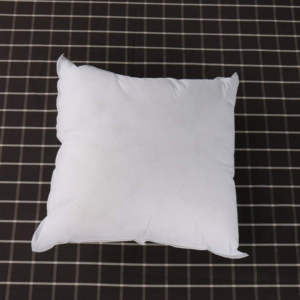 Gessppo 13.7x13.7inch Cotton Pillow Inserts Winter Standard Pillow Cushion Core Square Form Pillow Interior Home Decor White Sleeping Pillow