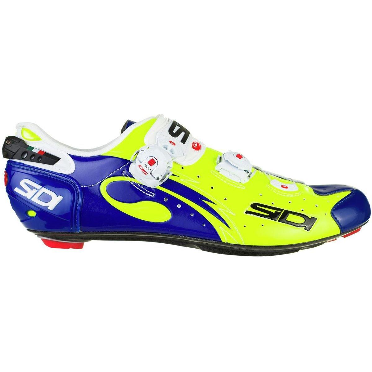 最新作 (シディ) Flo Sidi Wire Push Blue Cycling Shoe メンズ ロードバイクシューズFlo メンズ Yellow Blue [並行輸入品] 日本サイズ 29cm (45.5) Flo Yellow Blue B07G759RJ9, アディミュージックストア:9bc3d1d7 --- by.specpricep.ru
