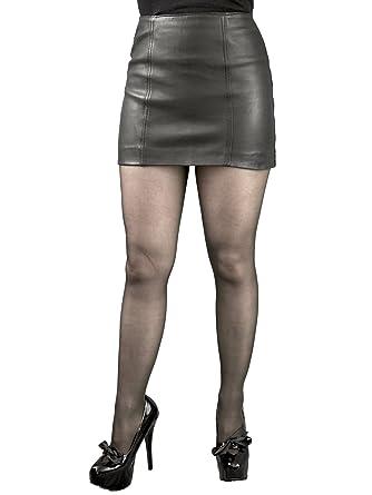 Tout Ensemble Leather Micro Mini Skirt (12