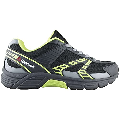 6e830a66216c Reebok Cruiser 4E (Wide) Shoe Men s Running 14 Black-Solar Yellow ...