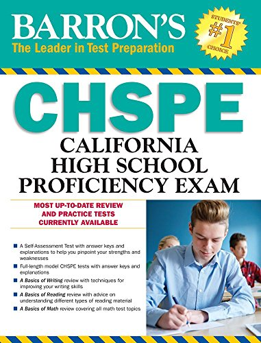 Barron's CHSPE, 9th Edition: California High School Proficiency Exam
