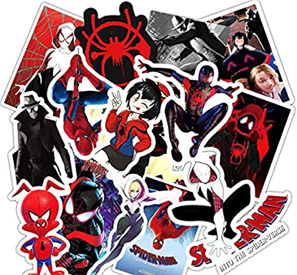 ZJJHX Super Hero Stickers Sets Spider Man Sticker para computadora ...