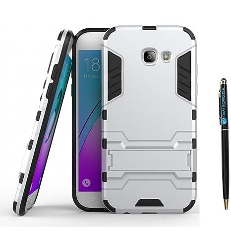 Galaxy A5 2017 Carcasa DWaybox 2 in 1 Hybrid Heavy Duty Armor Hard Back Funda Carcasa con kickstand para Samsung Galaxy A5 2017 SM-A520 5.2 Inch ...