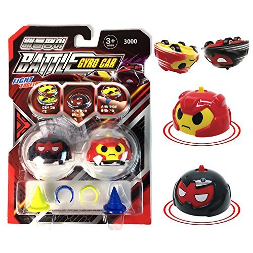 Battle Gyro Spinning Top Car Spinning Toy 2 Spinning Top Cars Set (Random)