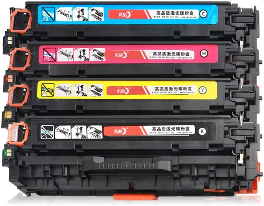 互換性あり互換性ありHP Cf210a用トナーカートリッジHp200 M251n M276nw Cf210a 131プリンター4色(2400ページ)