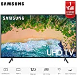 Samsung UN55NU7100 55 Class NU7100 Smart 4K Ultra HD TV (2018) (UN55NU7100FXZA) with 1 Year Extended Warranty UN55NU7100 55NU7100