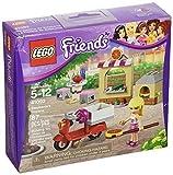 LEGO Friends Stephanie's Pizzeria (87pcs) Toy for Kids Figures Building Block Toys