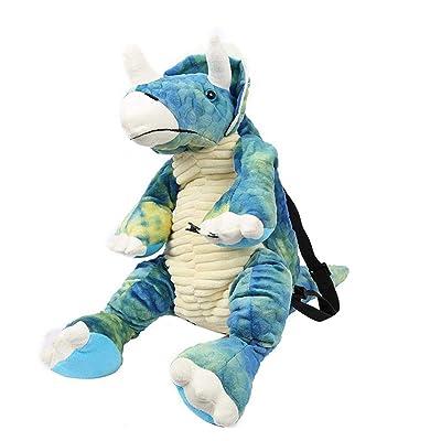 Kindes Cute Children Toddler Dinosaur Backpack for Kindergarten Pre School Kids' Backpacks: Home & Kitchen