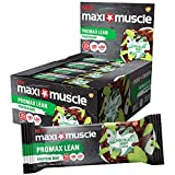 MaxiMuscle Promax Lean High Protein Bar, Chocolate Mint, 55 g, Pack of 12