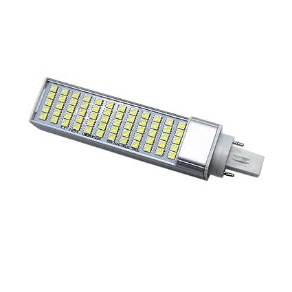 Alta calidad bombillas, G24 5050 AMD 60LED 10 W blanco frío LED de color blanco