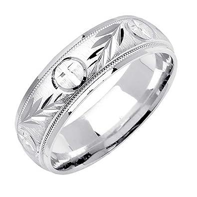 Amazon Com Platinum Religious Christian Men S Comfort Fit Wedding