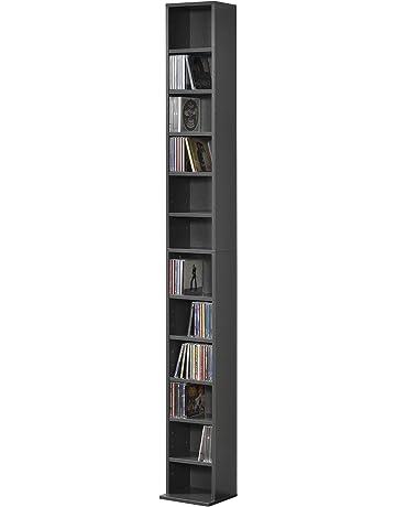 Estanterías para CDs y DVDs | Amazon.es