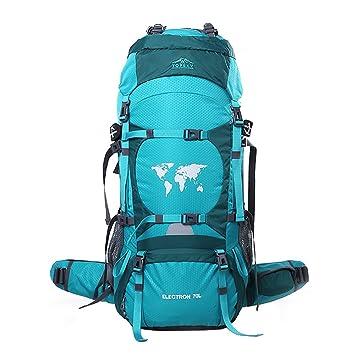 Topsky 70L Mochila Grande Cámping Excursionismo Alpinismo Trekking De viaje Mochila Waterproofs Nylon Bolsa De Viaje