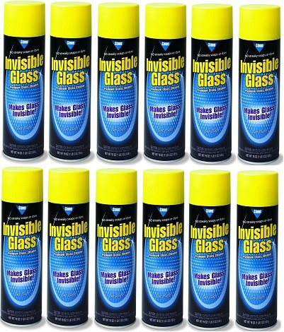 Invisible Glass 91164-12PK Premium Glass Cleaner 19-Ounce Ca