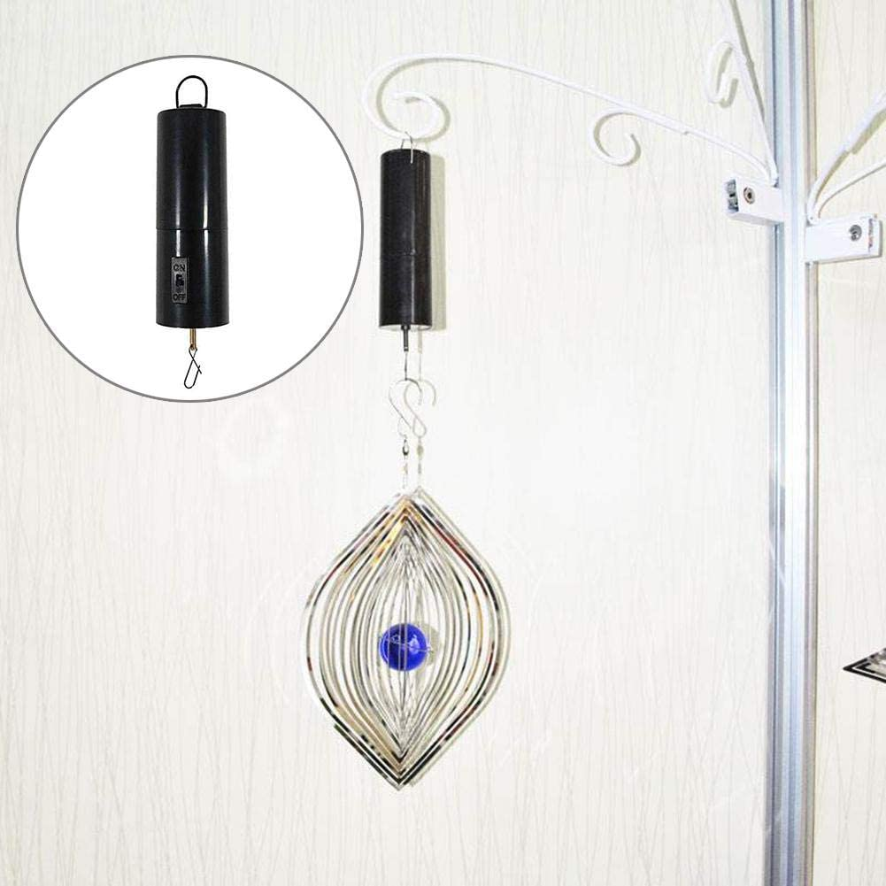 3x Battery Operated Hanging Display Wind Spinner Motor Garden Decor Accessoy