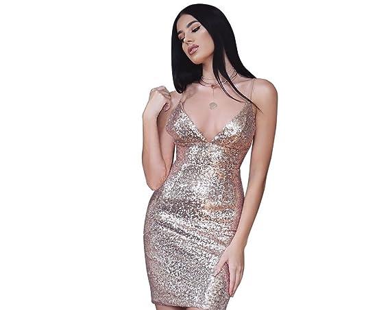 Carolina Dress Vestidos Ropa De Moda Para Mujer De Fiesta y Noche Elegante VE0029 at Amazon Womens Clothing store: