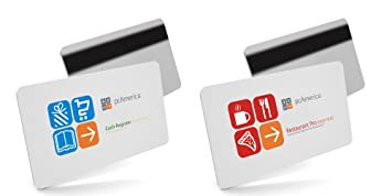 25 Pack PC America Cash Register Express Corner Store POS Server Swipe  Cards - AMAZON PRIME SHIPPING