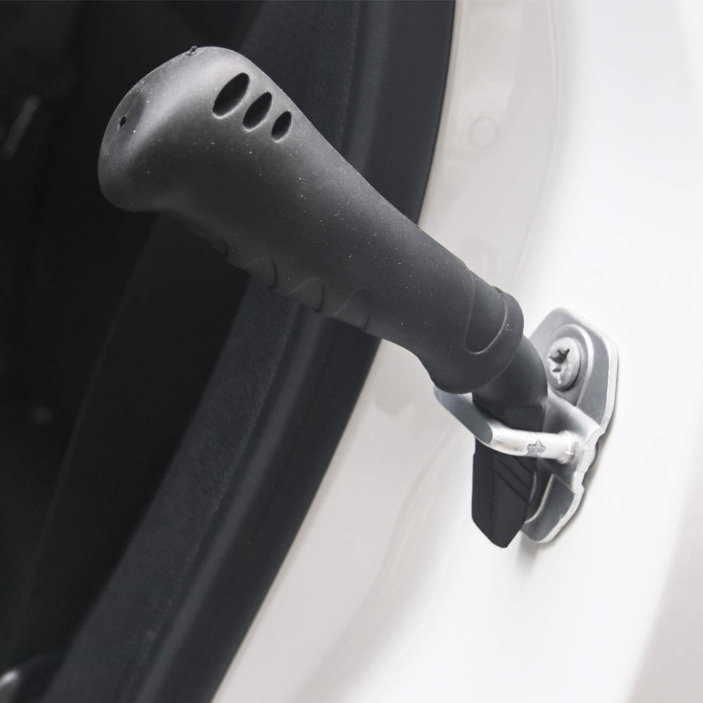 Black 1pcs Automotive Support Handle Mobility Aid /& Car Handle Cane Vehicle Stand Assist Grab Bar Handle Sporthfish Auto Cane