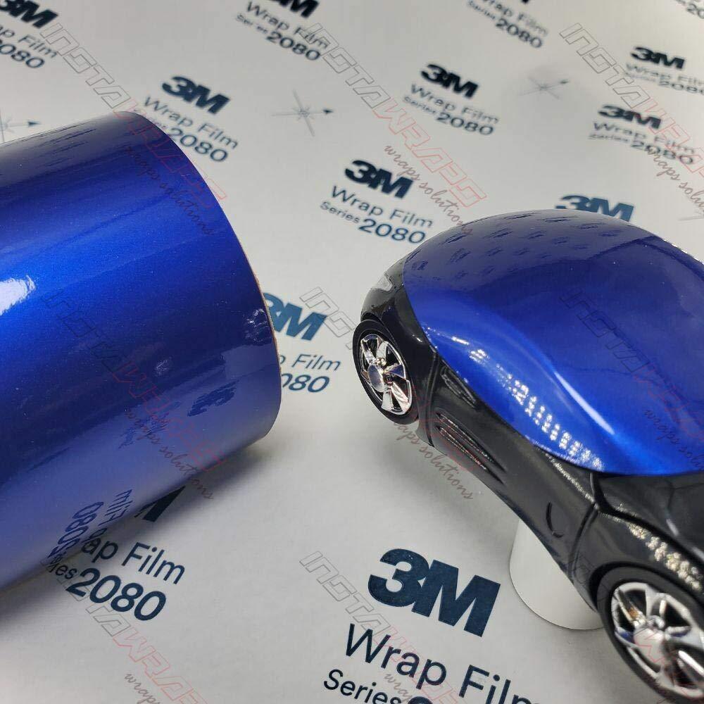 3M 1080 Gloss Cosmic Blue   G377   Vinyl CAR WRAP Film (Sample 2.5in x 4in)