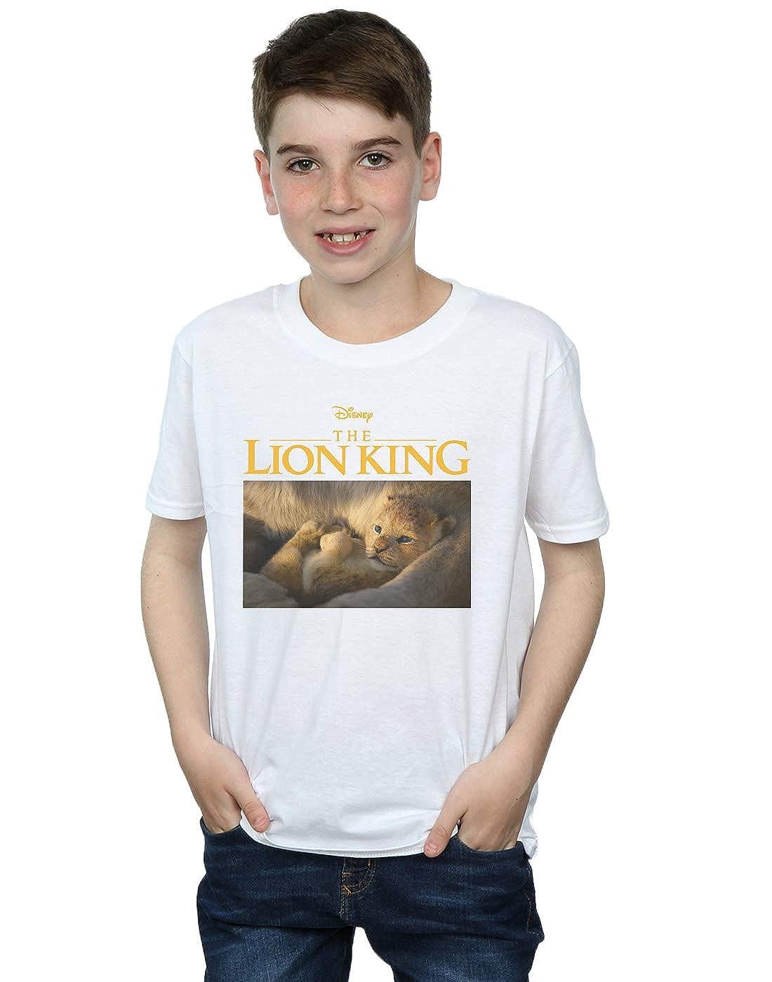 Disney Boys The Lion King Movie Baby Simba Photo T-Shirt