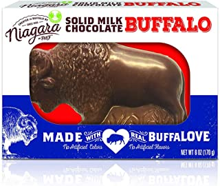 product image for Niagara by Frey Solid Milk Chocolate Buffalo 6 oz- Perfect for Gifting to Friends and Family, and spreading the love from Buffalo. Crafted with Premium Milk Chocolate.