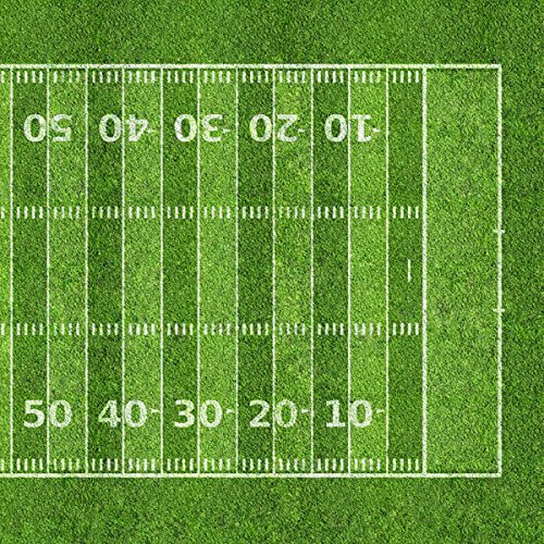Football Field #2 Right (37243) 12 inch x 12 inch Scrapbook Paper - 1 Sheet ()
