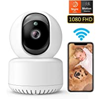 DADYPET Pet Camera, Baby Monitor, WiFi Camera, 1080P FHD Wireless IP Security Home Dome…