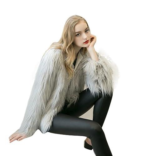 Vovotrade chaqueta de abrigo de las mujeres