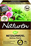 NatureN Bio Power Spray Organic Powder, SULPHUR Mildew Fungal to Pilzliche Plant Diseases to Fruit, Vegetable and Ornamental Plants 6 x 10 g Packets
