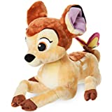Disney Bambi officiel 27cm Bambi avec papillon en peluche