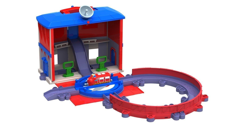 Amazon.com: StackTrack Chug Patrol Headquarters Set: Toys & Games