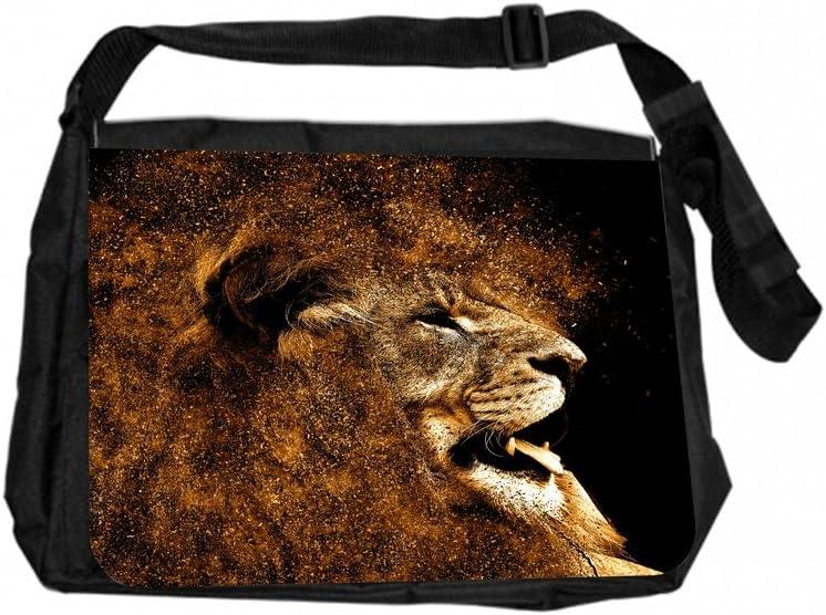 LionDust Jacks Outlet TM Laptop Messenger Bag and Small Wire Accessory Case Set