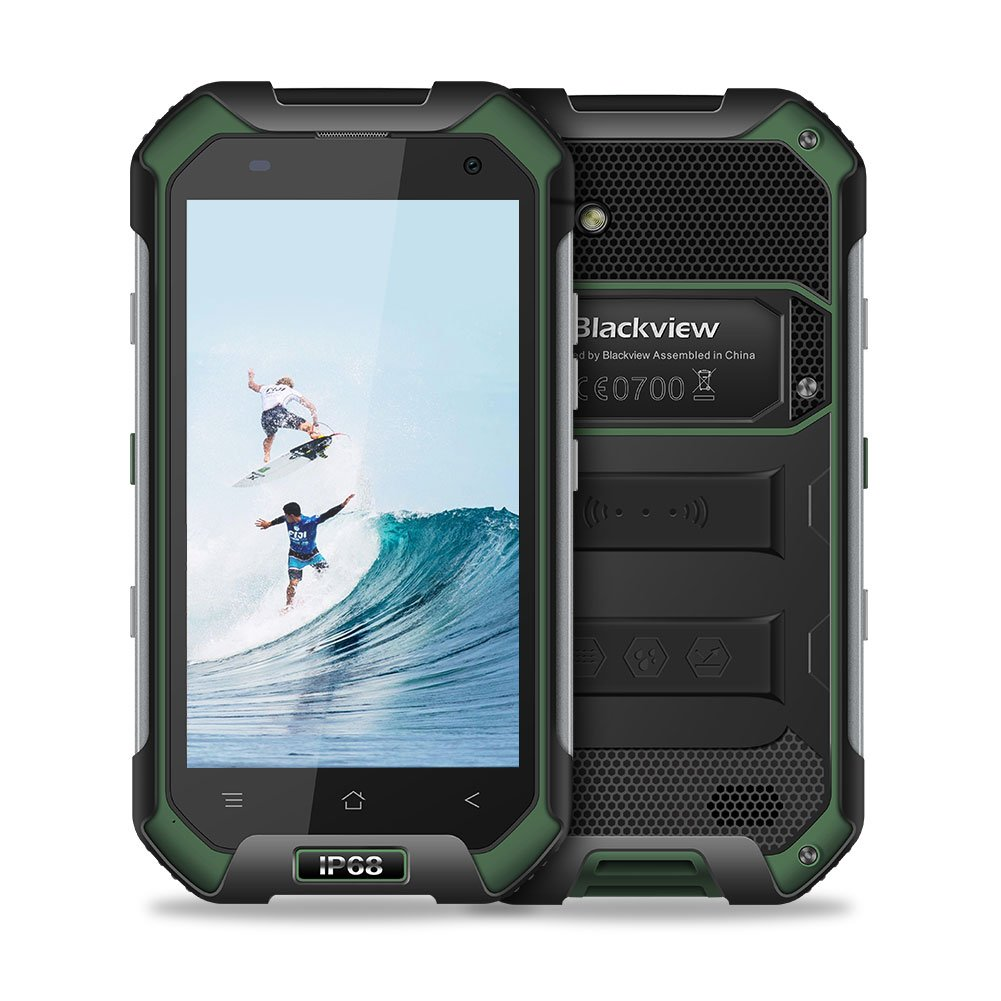 TALLA BV6000 3GB+32GB. Blackview BV6000 Smartphone Libre IP68 Impermeable a Prueba de Polvo a Prueba de Golpes Dual Sim, 3GB RAM + 32GB ROM 4500mAh Cámara de 13+5 MP Pantalla 4,7