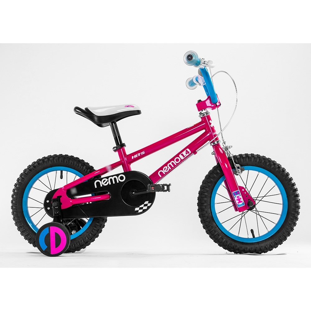 HAIZHEN マウンテンバイク 子供用自転車 トレーニングホイール付きの少年の自転車と少女の自転車 12インチ、14インチ、16インチ、18インチ アウトドアアウト 新生児 B07C6T6SJM 14 inch|赤 赤 14 inch