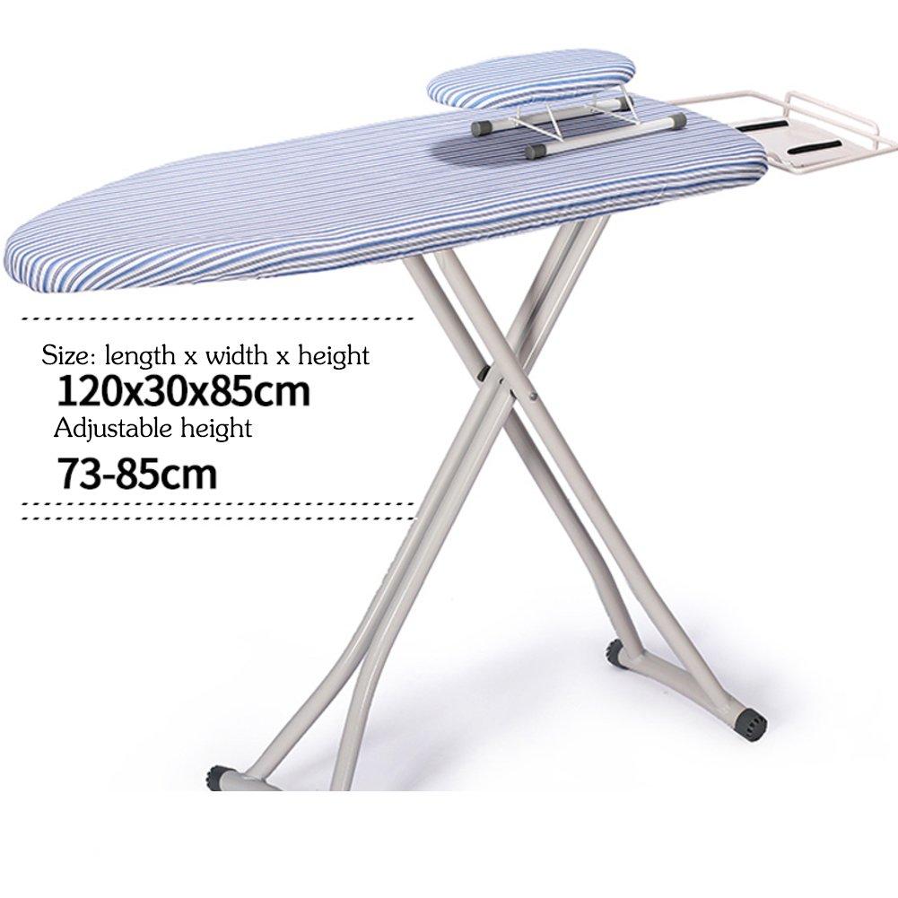 高さ調節可能広いアイロン アイロン ボード,スチーム アイロンの残りの部分のテーブル トップ アイロン テーブル トップ アイロン スチール トップ-G B07DNFMFHQ G