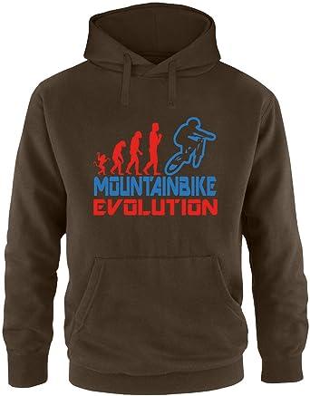 EZYshirt® Mountainbike Evolution Herren Hoodie