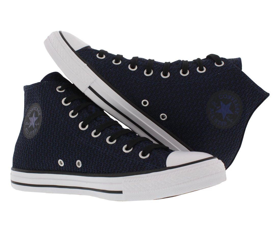 Converse Unisex Chuck Taylor All-Star High-Top Casual Sneakers in Classic Style and Color and Durable Canvas Uppers B01NCOE9XB 44 M EU / 12 B(M) US Women / 10 D(M) US Men|Midnight Navy/Black/White