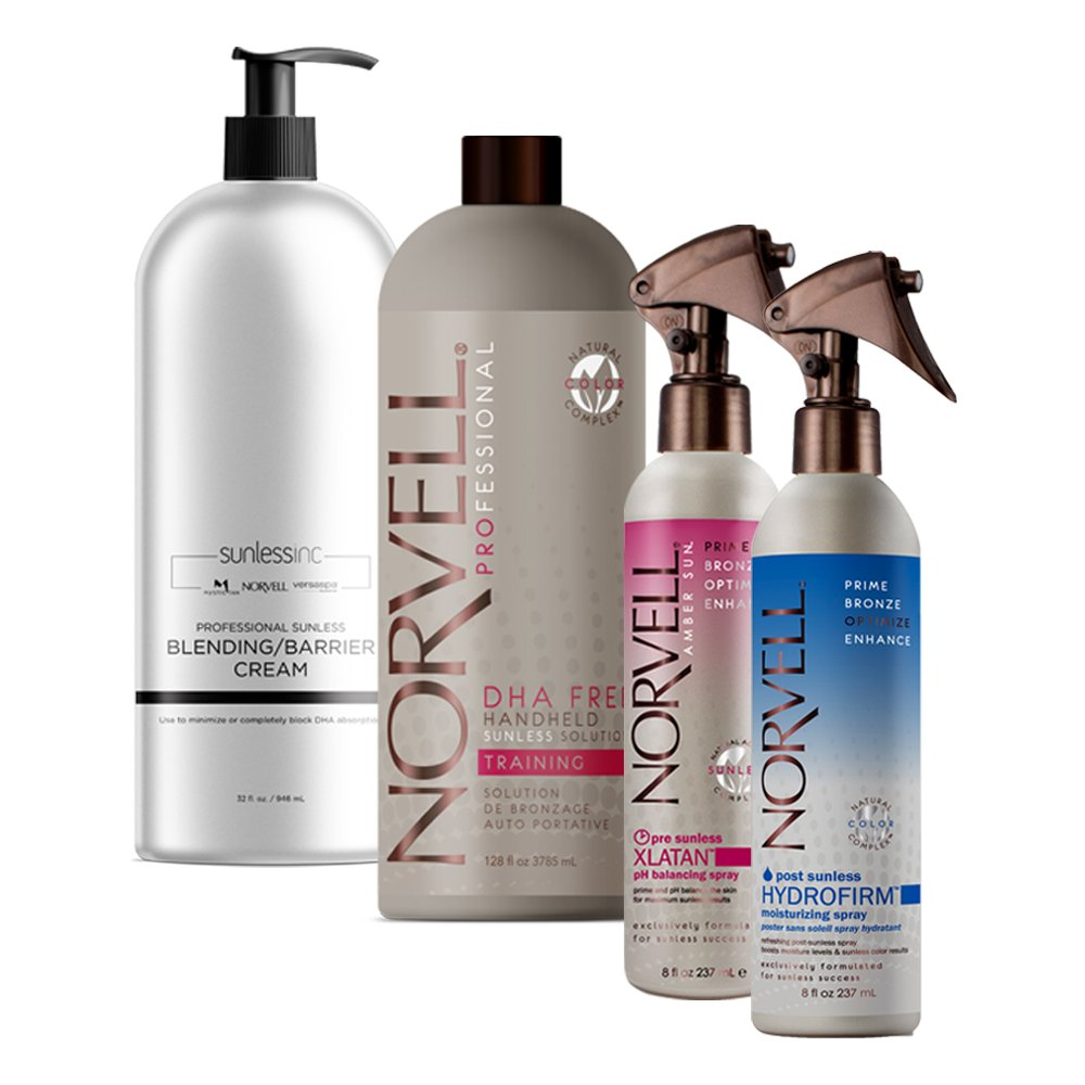 Aura Allure Spray Tanning Machine System with Norvell Airbrush Tan Solution Sunless Pro Kit Bundle and Bronze Pop Up Tent by Aura (Image #4)