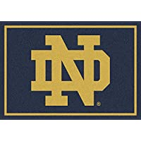 Notre Dame Fighting Irish NCAA College Team Spirit Team Area Rugs