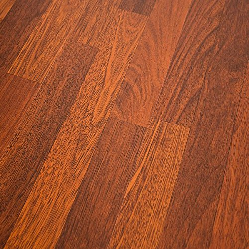 Quick-Step NatureTEC Home Sound Brazilian Cherry 7mm Laminate Flooring + 2mm Attached Pad SFS025 SAMPLE