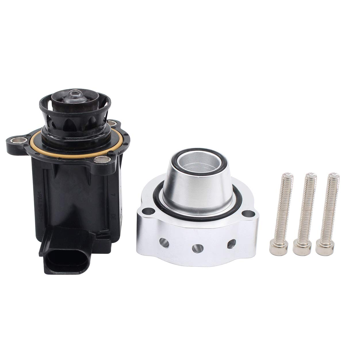 NewYall Blow Off Valve and Cut Off Valve Diverter Kit with Bolts