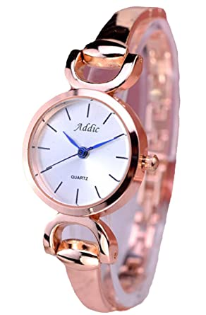 bb9855d6c69 Buy Addic Analog White Dial Women s Watch - AddicWW465A Online at Low  Prices in India - Amazon.in
