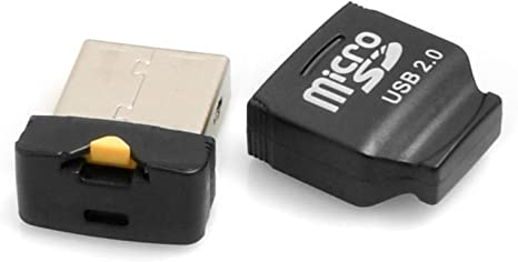 System S Mini Usb 2 0 Adapter For Microsd Sdhc Cards Elektronik
