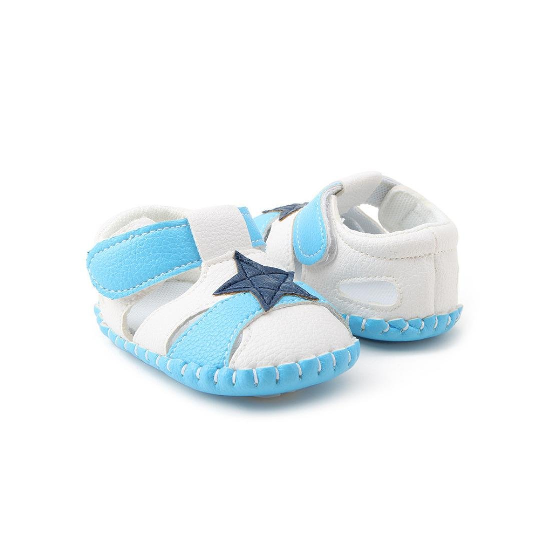 Womail HOT Fashion Infant Kids Baby Girls Boys Soft Sole Crib Toddler Newborn Sandals Shoes