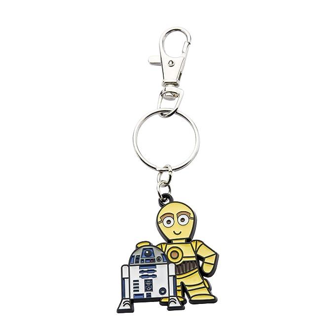 Star Wars R2-D2 & C-3PO Bag Tag Llavero: Amazon.es: Ropa y ...