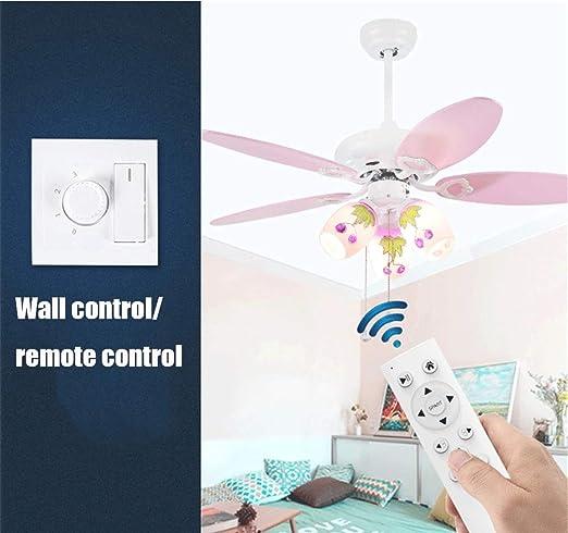 XHJZ-W - Lámpara de Techo con diseño de Abanico de Dibujos ...