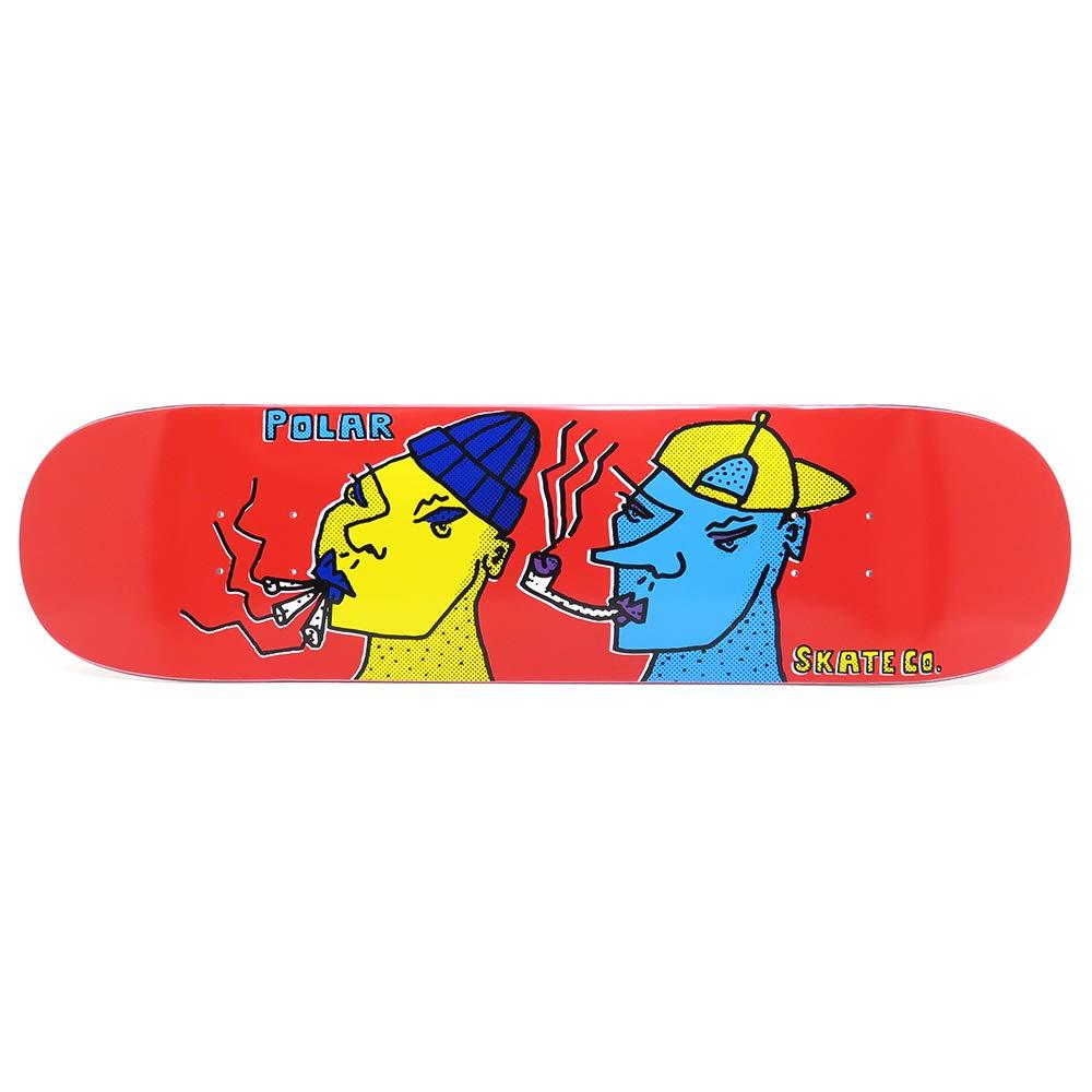 【ギフ_包装】 POLAR DECK ポーラー デッキ POLAR スケボー デッキ TEAM SMOKING HEADS RED 8.0 スケートボード スケボー SKATEBOARD B07R7KWQLQ, DIK:f6a7d5a6 --- domaska.lt