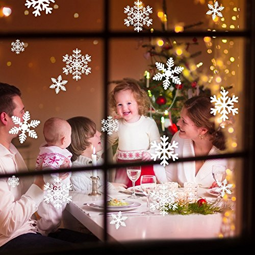 Muqu The Best Amazon Price In SaveMoneyes - Snowflake window stickers amazon