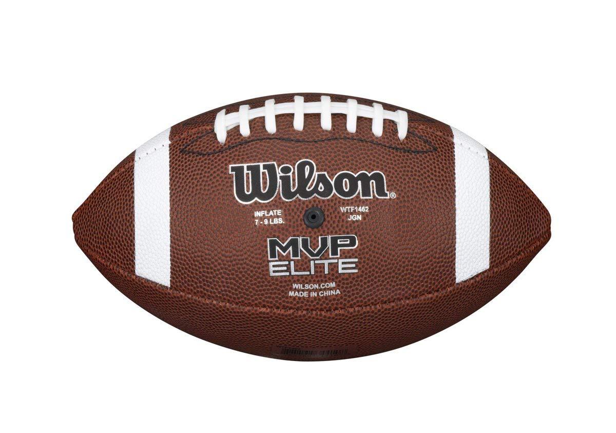 Wilson NCAA MVP エリートフットボール B07LB44LW2  Official