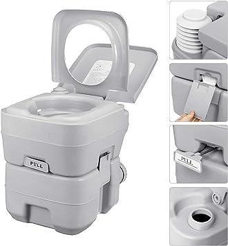 Acampar WC móvil, Flushing portátil para IR al baño químico ...
